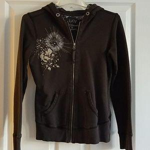 Lucy Full Zip Art Hoodie - Size S